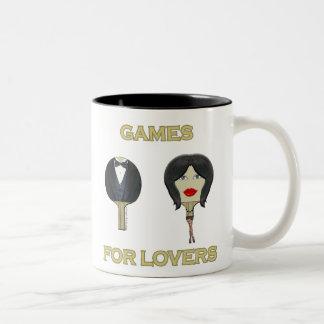 Ping Pong Lovers Games Coffee Mugs