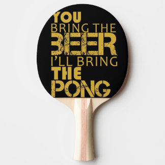 Ping pong paddle beer pong