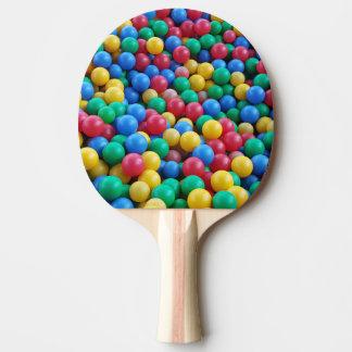 Ping Pong Paddle Colorful Funny Kids Balls Play