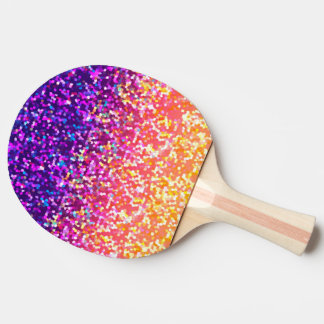 Ping Pong Paddle Glitter Graphic