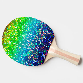 Ping Pong Paddle Glitter Graphic Background