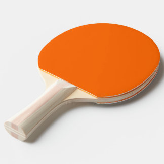 Ping Pong Paddle uni Orange