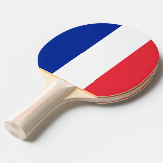 Ping pong paddle with Flag of France