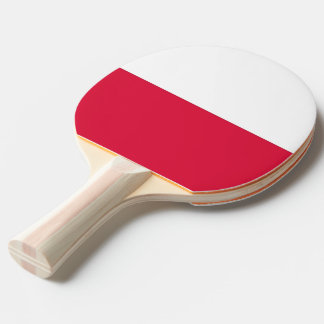 Ping pong paddle with Flag of Poland