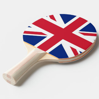 Ping pong paddle with Flag of United Kingdom