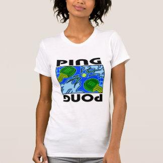 Ping Pong Paddles and Ball Table Tennis T-Shirt