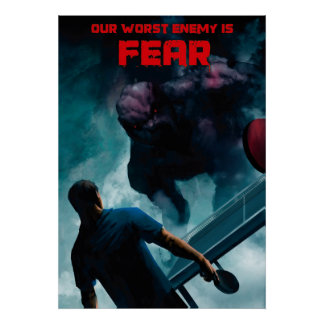 Ping Pong Posters: Fear Poster