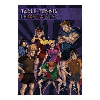 Ping Pong Posters: Personalities Poster