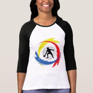Ping Pong Tricolor Emblem T-Shirt