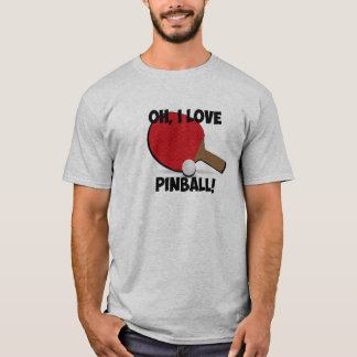 Ping Pong Wizard pinball parody shirt