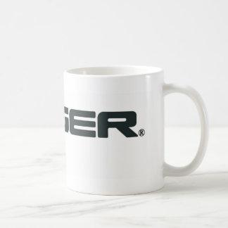 Pinger Coffee Cup - Large logo Coffee Mugs