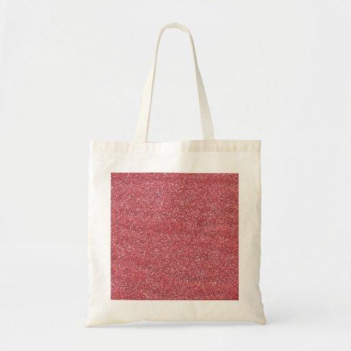 pink1 PINK BEE MINE GLITTER TEXTURE BACKGROUND TEM Canvas Bag