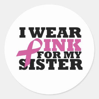 pink_02 round sticker