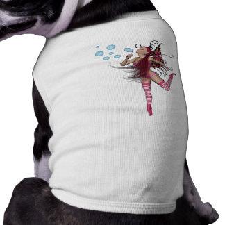 Pink 3D Pixie - Fairy Graphic 1 Pet Tshirt