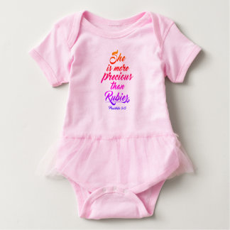 Pink 6 month tutu top/outfit baby bodysuit