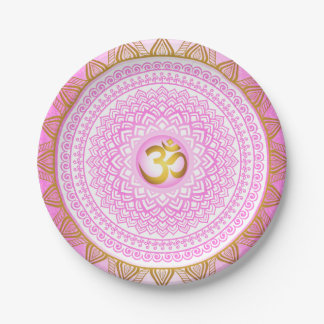 Pink 7th Chakra, Sahasrana Pink Plate