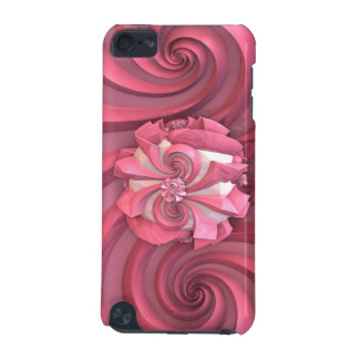 Pink abstract Art Design iPod Touch (5th Generation) Case