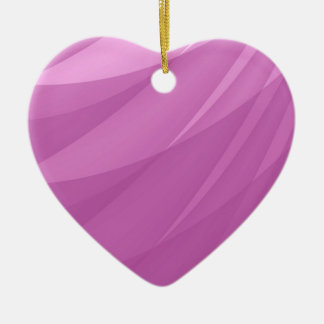 Pink Abstract Blank Background Ceramic Heart Decoration