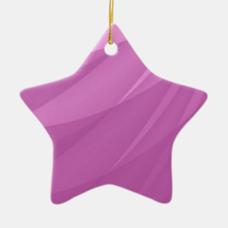 Pink Abstract Blank Background Ceramic Star Decoration