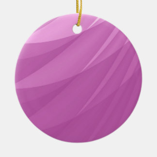 Pink Abstract Blank Background Round Ceramic Decoration