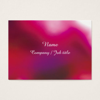 Pink Abstract Energic Vital Businesscard