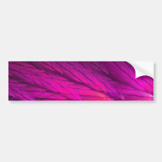 Pink Abstract Fractal Background Bumper Sticker