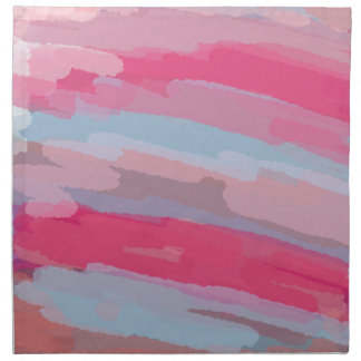 Pink Abstract Pattern Napkin