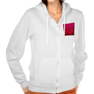 Pink Abstract Sparkles Light Design Hoodie