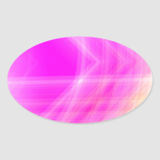 Pink Abstract Sticker