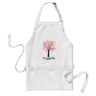 Pink Abstract Tree Standard Apron