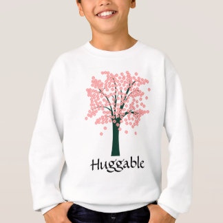 Pink Abstract Tree Sweatshirt