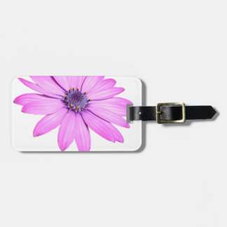 Pink Afrıcan Daisy With Transparent Background Luggage Tag