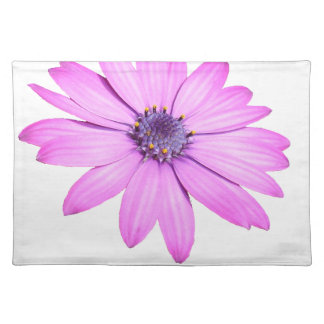 Pink Afrıcan Daisy With Transparent Background Placemat