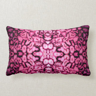 pink Agates Lumbar Cushion