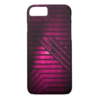 Pink Alien Metal iPhone 8/7 Case