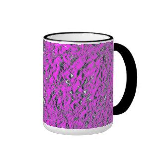 Pink Aluminum Foil Mug