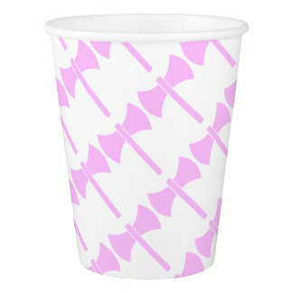 Pink Amazon Symbol Paper Cup