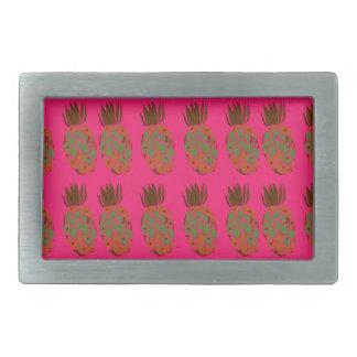 Pink ananas cute belt buckles