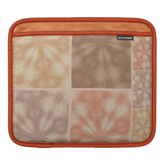 Pink And Beige  Pattern iPad Sleeve