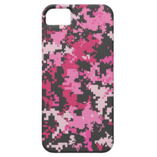 Pink and Black Camo iPhone Case iPhone 5 Case