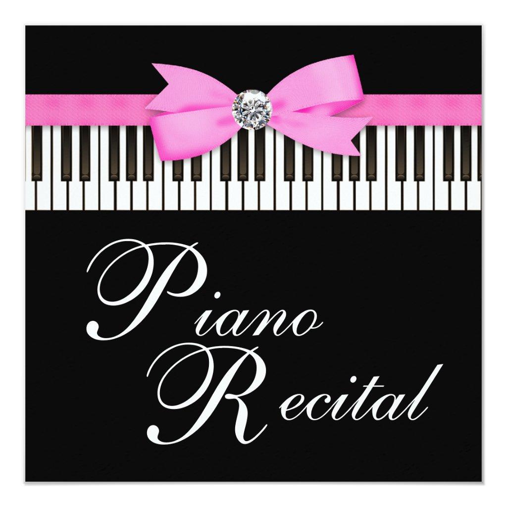 Piano Recital Gifts Black Piano Keys Recital