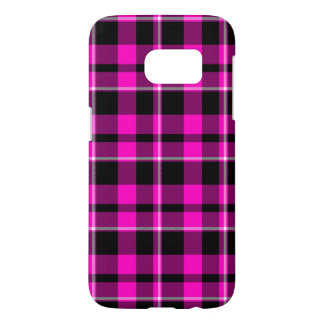 Pink and Black Plaid Modern