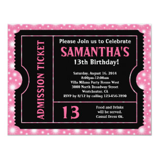 Shop Zazzle's selection of 13th birthday invitations for your party!