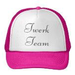 Pink and Black twerk team hat