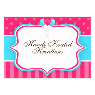 Pink and Blue Balloons Business Card Templates