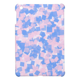 Pink and Blue Confetti iPad Mini Cases