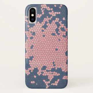 Pink and Blue Digital Art Cell Phone Case