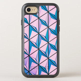 Pink and Blue Geometric Pattern OtterBox Symmetry iPhone 8/7 Case