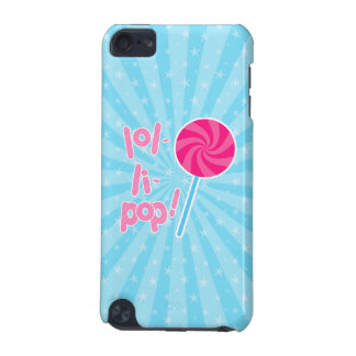 Pink and Blue Lollipop iPod Touch 5G Case