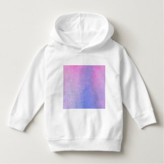 Pink and Blue Marble Watercolour Hoodie
